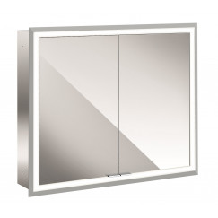 Emco Asis Prime inb.spiegelkast 80 2xdeur-led verl.binnen spiegel  949705072