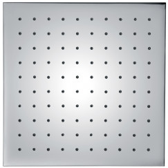 Novio Be Fresh Square 2.0 hoofddouche 250 x 250 mm. messing verchroomd Chroom