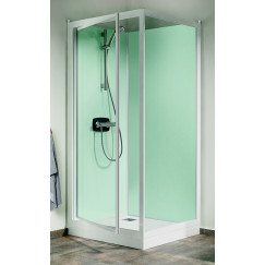 Kinedo Kineprime Glass douchecabine m/draaideur 80x208+therm. wit-helder Wit CA721TTN