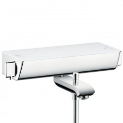 Hansgrohe Ecostat Select badthermostaat met omstel wit-chroom Wit Chroom 13141400