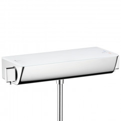 Hansgrohe Ecostat Select douchethermostaat 15 cm. wit-chroom Wit Chroom 13161400