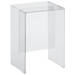 Laufen Kartell By Laufen douchetabouret / stoel transparant Transparant H3893300840001