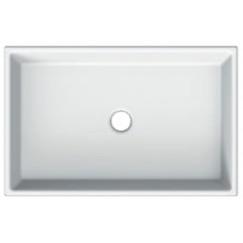 Novio Legato 2.0 wastafel 60x40 cm zonder kraangat z/overloop wit Wit