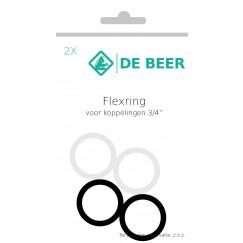 De Beer  flexringset voor s-koppeling  340028999