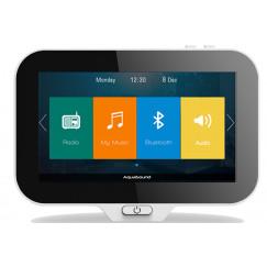 Aquasound  n-joy controller v/music center m/lader+adapter Wit EMC16CTRL