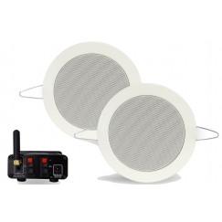 Aquasound  bluetooth music-center 35w m/tiwst speakerset Wit BMN35EASY-TW