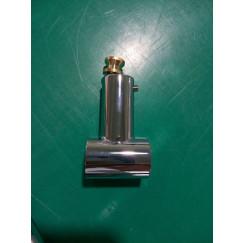 Guo Be Fresh bovenste bevestigingselement voor glijstang chroom Chroom