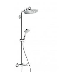 Hansgrohe Croma Select S 280 showerpipe met thermostaat chroom Chroom 26790000