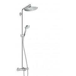 Hansgrohe Croma Select S 280 showerpipe met badthermostaat