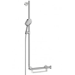Hansgrohe Raindance Select s 120 unica-comfort glijstangset 110 cm. links