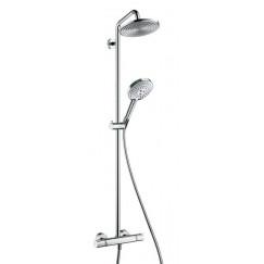 Hansgrohe Raindance Select showerpipe 240 ecosmart chroom Chroom 27116000