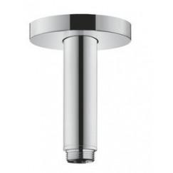 Hansgrohe  douchearm plafondbevestiging s 100 mm. chroom Chroom 27393000