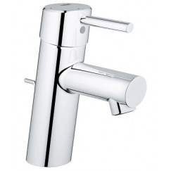 Grohe Concetto wastafelkraan s-size met waste chroom Chroom 2338010E