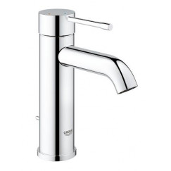 Grohe Essence New s-size wastafelkraan met waste chroom Chroom 23591001