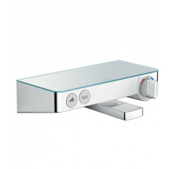 Hansgrohe Select Shower Tablet 300 badthermostaat met omstel wit-chroom Wit Chroom 13151400