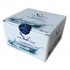 Starbluedisc  toiletblokjes halfjaar verpakking a 12 stuks blauw Blauw 122122150