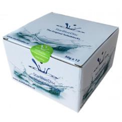 Starbluedisc  toiletblokjes halfjaarverpakking a 12 stuks groen Groen 127185514