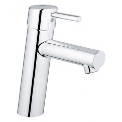 Grohe Concetto wastafelkraan medium zonder waste chroom Chroom 23451001