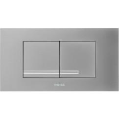 Wisa Xt kantos front/top bedieningsplaat dualflush chroom Chroom 8050418751