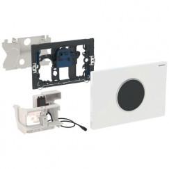 Geberit Sigma 10 bedieningsplaat infrarood netvoeding 230v Wit-mat-mat 115.907.KL.1