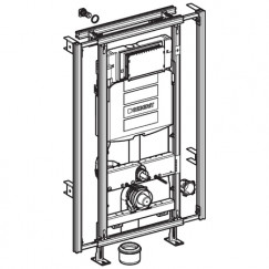 Geberit Gis Easy sigma inbouwreservoir h120 cm. b.60/95 cm.