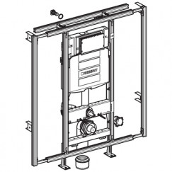 Geberit Gis Easy sigma inbouwreservoir h120 cm. b.90/125 cm.  442.021.00.5