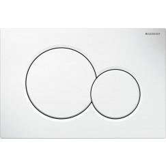 Geberit Sigma 01 bedieningsplaat frontbediening wit Wit 115.770.11.5