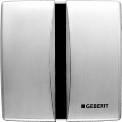 Geberit  urinoir bedieningsplaat infrarood batterij Mat Chroom 115.804.46.5