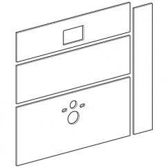 Geberit Gis Easy gipsplaat 130x130 v/toiletmodule frontbediening  442.331.00.1