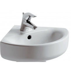 Ideal Standard Connect Arc arc hoekfontein 45 cm. wit Wit E713601
