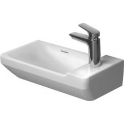Duravit P3 Comforts fontein 50x25 cm. 1x kraangat wit Wit 0715500000