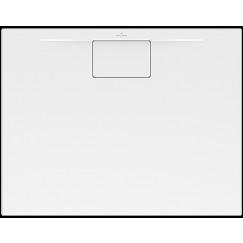 Villeroy & Boch Architectura douchebak metal rim 100x90x1.5cm wit Wit UDA1090ARA215V-01