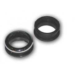 De Beer  euromanchet 95r 55 mm. zwart zwart Zwart 115951001