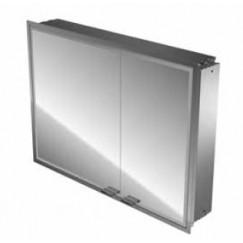 Emco Asis Prestige inbouw spiegelkast 815x665 mm. zonder radio Aluminium 989706053