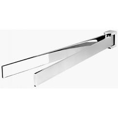 Geesa Modern Art 2-lids handdoekhouder 40 cm. chroom Chroom 913505-02