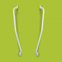 Handicare  trapspil 51x51 cm.beugel b Wit LI2611-012102