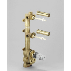 Dornbracht  x-tool basisgarnituur voor thermostaat v/2 stopkr.  3552697090
