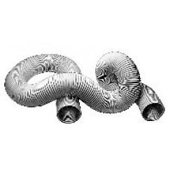 Upmann  flexible buis 100mmx100cm.