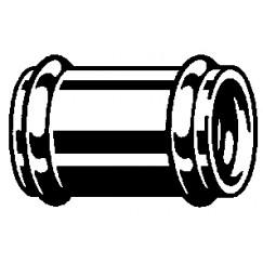 Viega  sok voor muurbuis 32 mm. chroom Chroom 102371