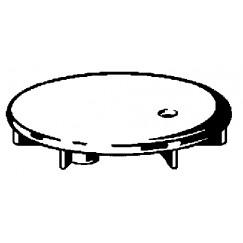 Viega Domoplex afdekset voor doucheafvoer chroom Chroom 649968