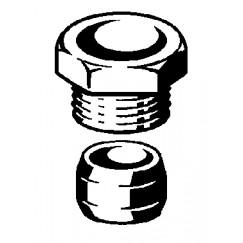 """Viega  knelkoppeling voor dubbeldoos 1/2""""x15  112059"""