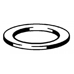 "Viega  platte rubberring 1 1/4"" 38x58x2mm.  111588"