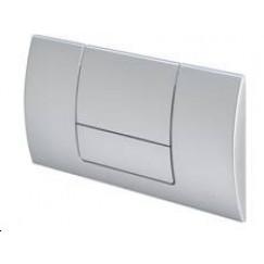 Novio Senza bedieningsplaat 2-knops frontbediening mat chroom Mat Chroom