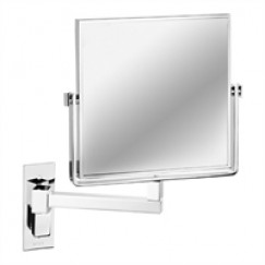 Geesa Cosmetic Collection scheerspiegel 1-arm 19x19 cm. 3x vergrotend chroom Chroom 911080
