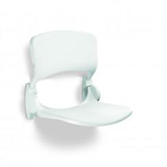 Handicare  ergon.douchezitting opklapbaar met rugleuning wit Wit LI2202-200602
