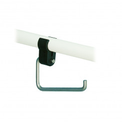 Handicare  closetrolhouder voor beugel rvs Rvs LI2617-000203
