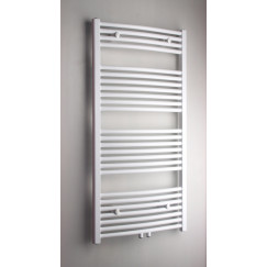 Novio Apollo G radiator 60x120 n25 626w gebogen as=1188 wit Wit Ral 9016