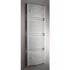Novio Apollo G radiator 50x180 n41 852w gebogen midden aansl wit Wit Ral 9016