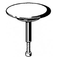 Viega  kegel kunststof chroom Chroom 215392