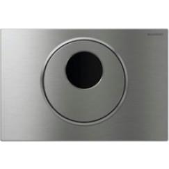 Geberit Sigma 10 bedieningsplaat infrarood netvoeding 230v spoelsto Rvs Geborsteld 115.890.SN.5